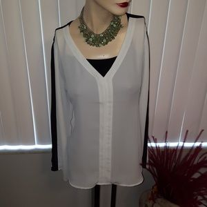 Tops - Chiffon Sheer Blouse